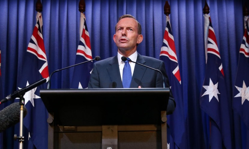 Tony Abbott said Australia had been too willing to give 'those who might be a threat to our country the benefit of the doubt'. Photograph: Mike Bowers