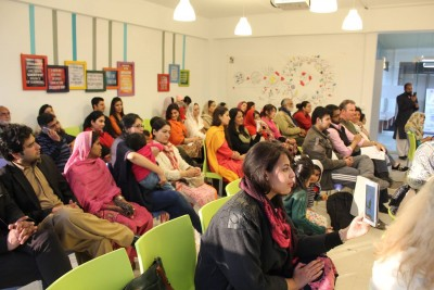 Audience at the launch of WECREATE Women Entrepreneurs in Islamabad.