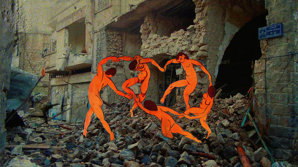 """Matisse"" by Tammam Azzam. Photo: Aljazeera"