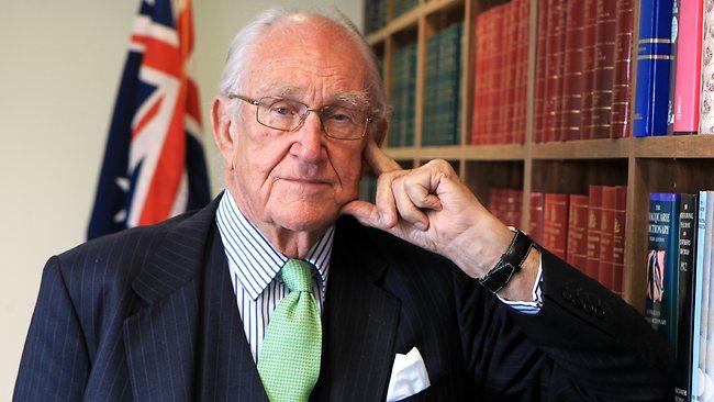Former Australian Prime Minister, Malcom Fraser