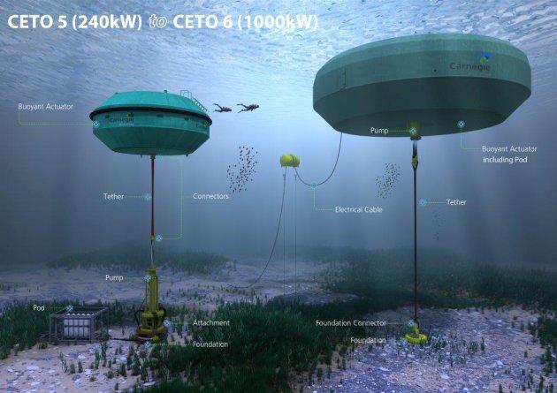 CETO 5 underwater farm