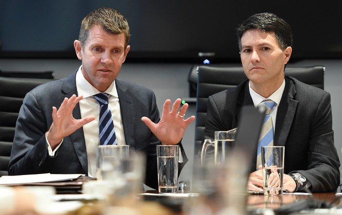 Premier Mike Baird and Communities Minister Victor Dominello have vigorously pursued their vision for peak body Multicultural NSW. AAP/Dan Himbrechts