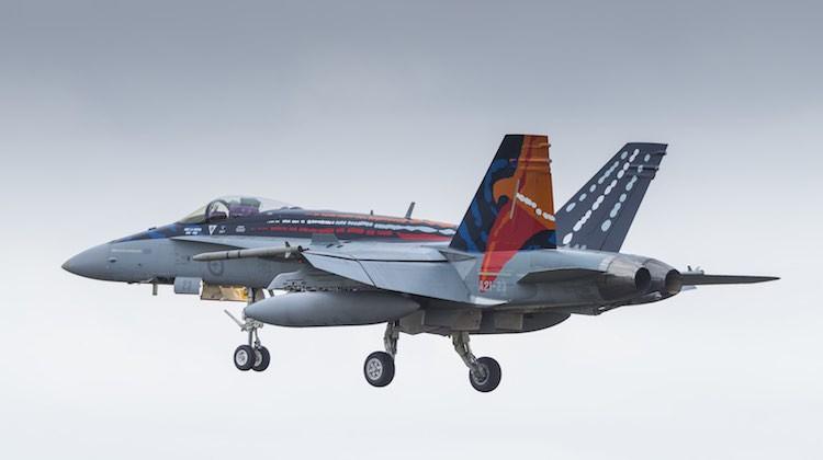The Worimi Hornet flies into Avalon. (John Absolon)