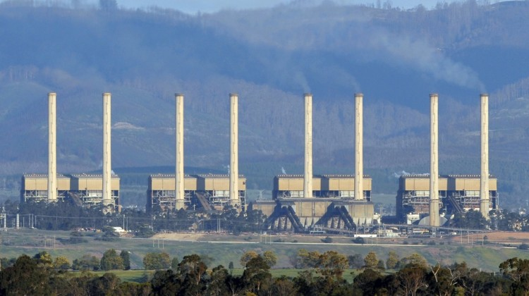 Victoria's Hazelwood power station. Photograph: Paul Crock/AFP/Getty Images