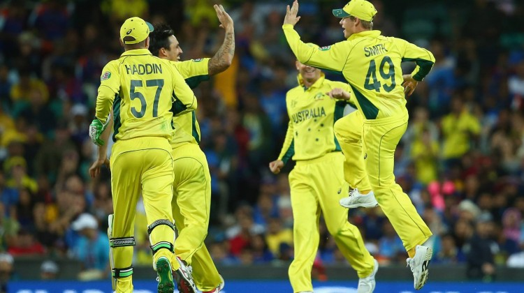 Aussies powered into the World Cup final with a 95-run victory over defending champions India