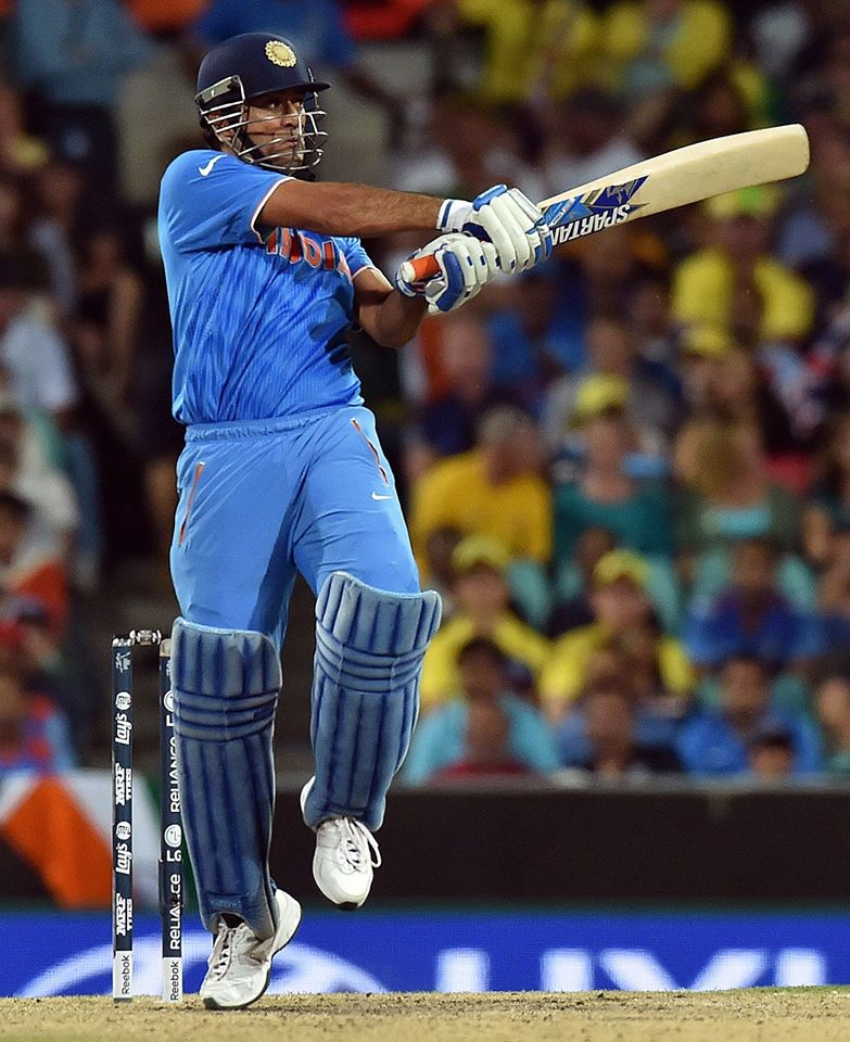 MS Dhoni scored his 65 from 65 balls