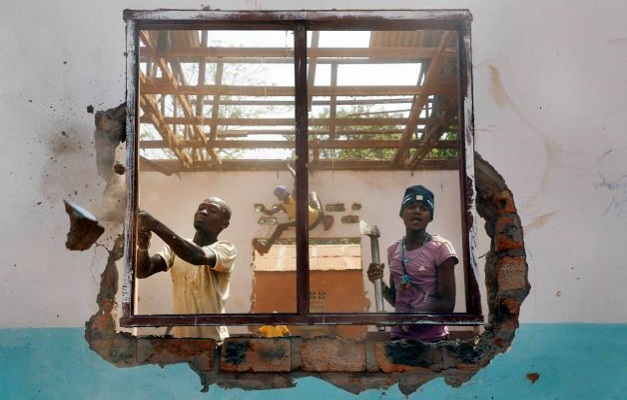 Christians are busy in destroying mosques in Central African Republic