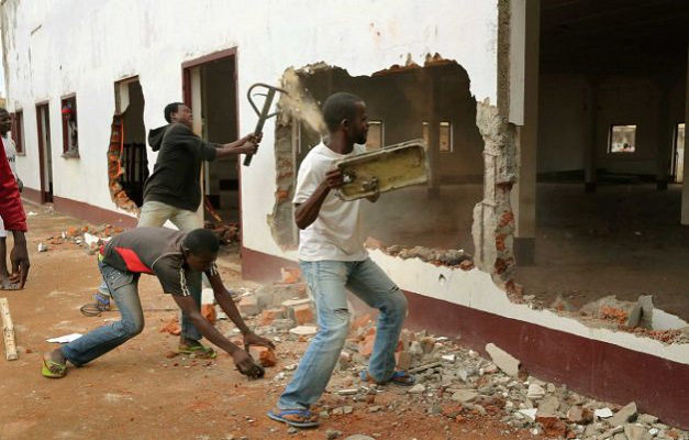 Christians are attacking mosques in Central African Public