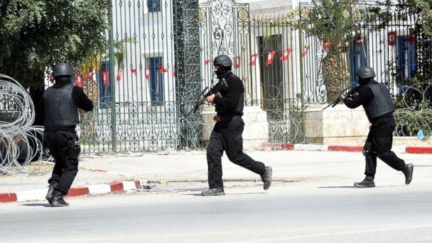 Two Attackers Killed After Hostage Situation in Tunisia Ends Fethi Belaid/AFP/Getty Images