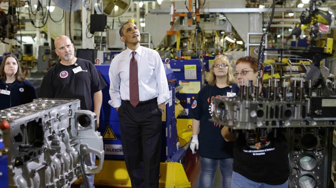 US innovation is looking up.  Photo: AP/Charles Dharapak