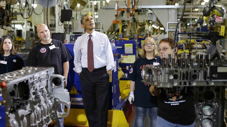 US innovation is looking up.  Photo: AP/Charles Dharapak