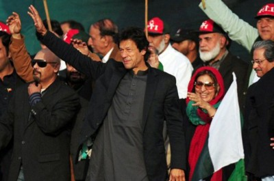 Imran Khan in Karachi