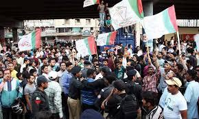 Karachi 246 election campaign