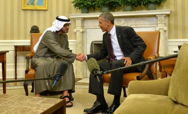 Abu Dhabi Crown Prince discusses regional stability with US President Obama.