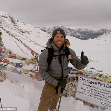 Justin Pomella, from Melbourne, was last contacted on Friday when he was in Kathmandu.