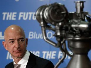 Jeff Bezos isn't only working on Amazon – he also runs Blue Origin