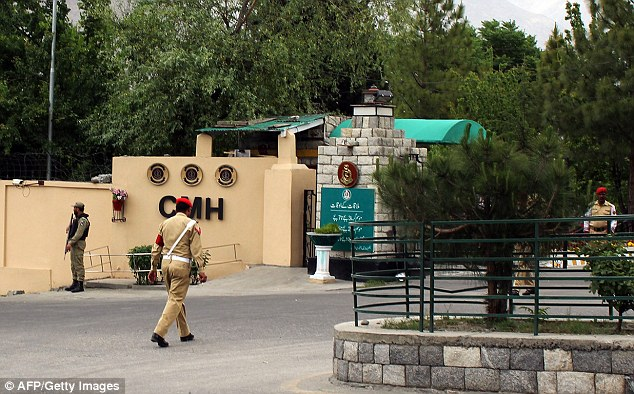 The injured were being air lifted to Combined Military Hospital in Gilgit after the helicopter crash.