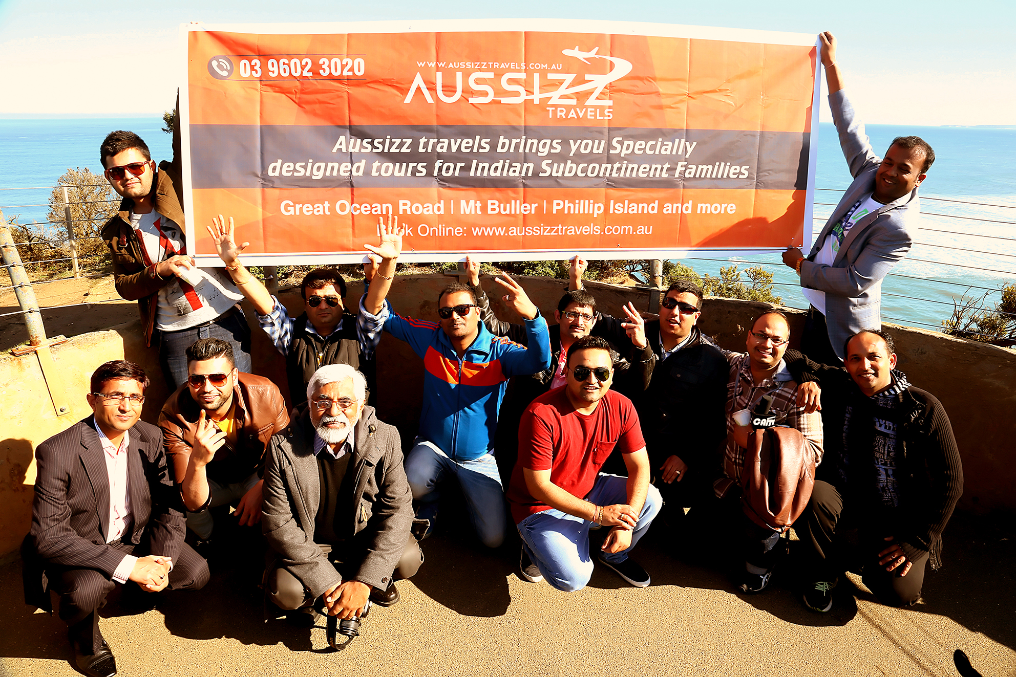 Aussizz travel launched their first travel & tour bus service to Great Ocean Road in Melbourne, Victoria