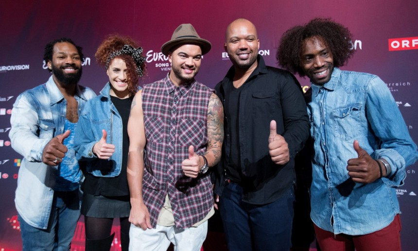 Will Europe give Australia's Guy Sebastian the thumb's up at this year's Eurovision? Photograph: GEORG HOCHMUTH/EPA