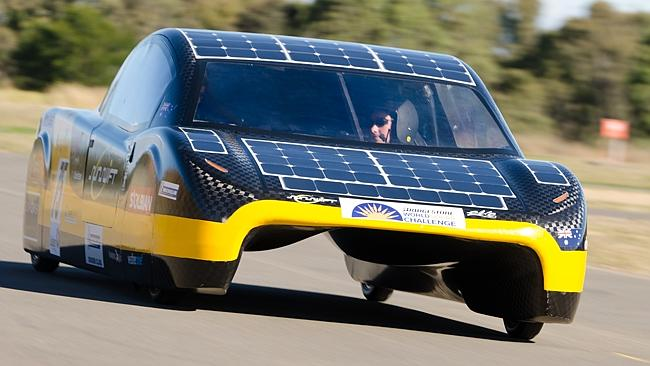 Australia's first road legal solar sports car