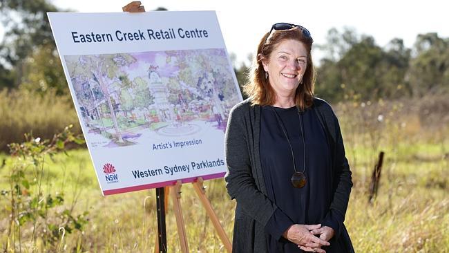 Director of Western Sydney Parklands Suellen Fitzgerald.