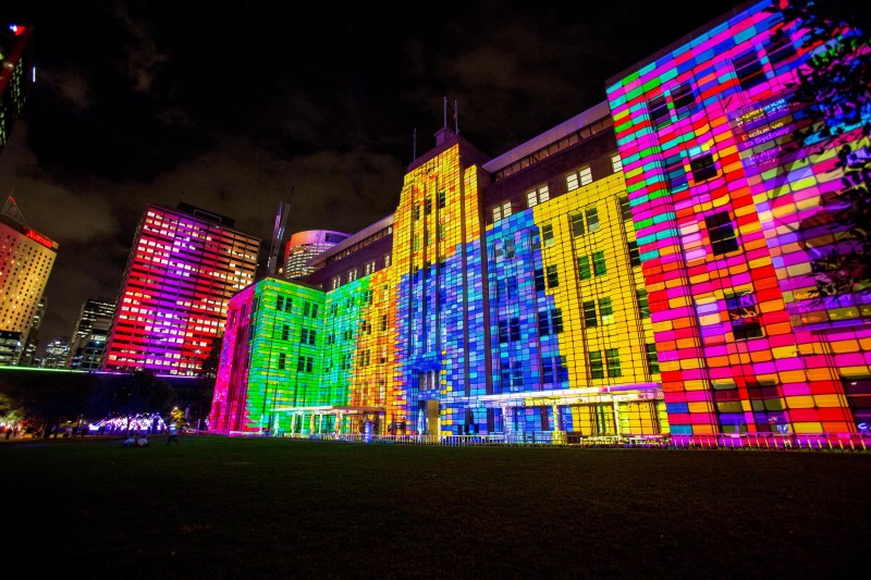Vivid Sydney 2015, Media Preview at the MCA. 21/5/2015. Photo Credit - James Horan/Destination NSW