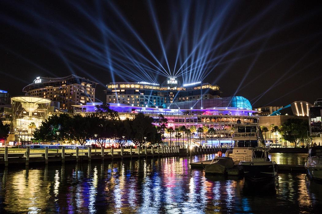 Mission Control, The Star, Vivid Sydney Festival 2015. Photo: Destination NSW