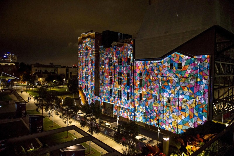 View of  Vivid Sydney 2015 Media Preview at Central Park on the 18th of May, 2015View of  Vivid Sydney 2015 Media Preview at Central Park on the 18th of May, 2015