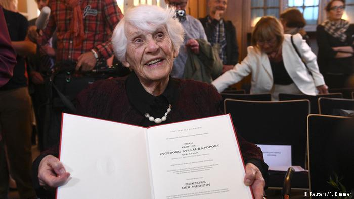 102-year-old woman awarded Ph.D she was denied under Nazi regime
