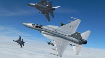 Pakistan was successful in securing its first ever export order for its JF-17 Thunder fighter at the first day of the International Paris Air Show