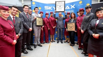 Qatar Airways has been named the Best Airline in the World for 2015 by leading aviation consumer website Skytrax.