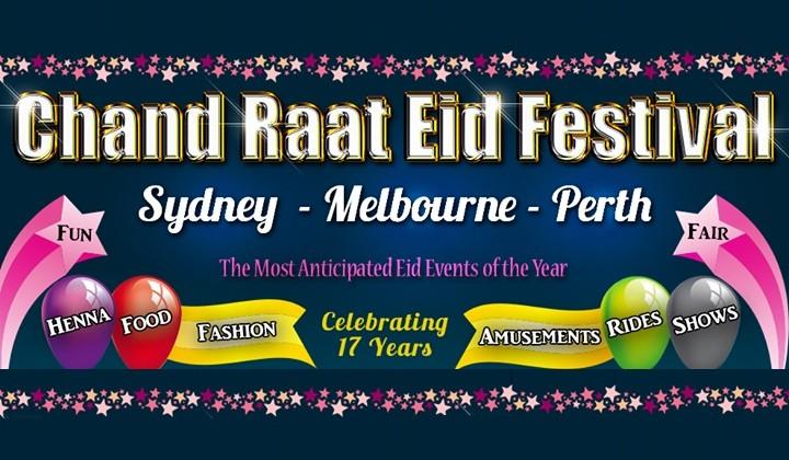 Chand Raat Eid Festival in Sydney, Perth, Melbourne (Australia)