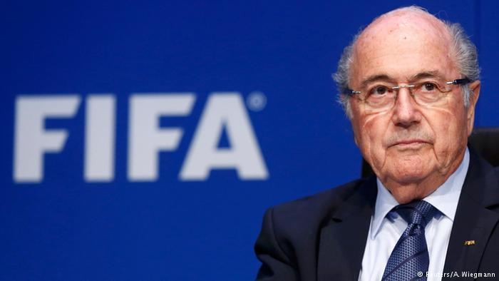 FIFA Chief Sepp Blatter announces resignation