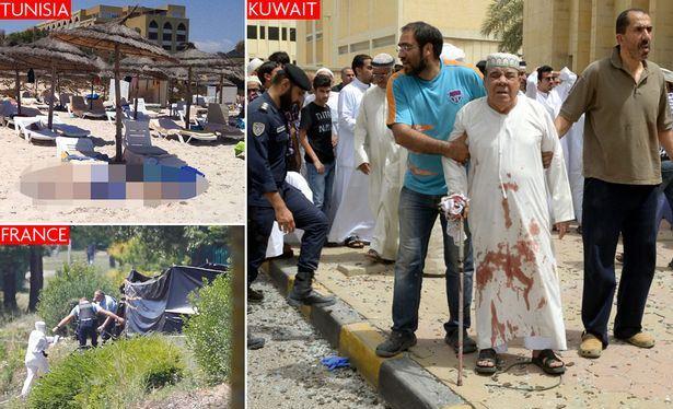 Tunisia, Kuwait, France and Somalia rocked by terror attacks