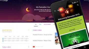 Google's Ramadan companion