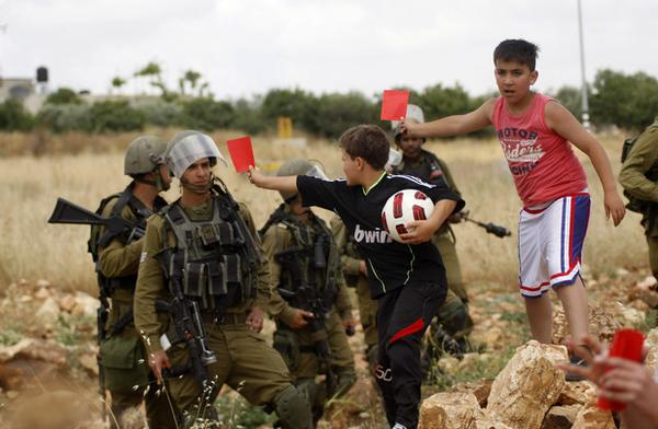 israel red card