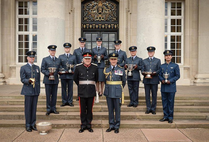 Flying Officer of Pakistan Air Force (PAF) Junaid Saleem has been awarded with the 'Best Overseas Cadet Award' by UK's Royal Air Force College (RAFC) Cranwell.