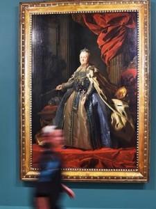 Portrait of Catherine II by Alexander Roslin. Photo: Ellen Smith