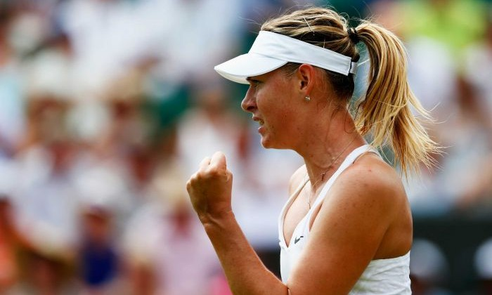 Maria Sharapova waved away concerns about the heat as she progressed to the third round. Getty Images: Julian Finney