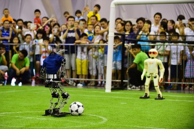 RoboCup is the World Cup for robots is being held in China. Photo: DU YU/XINHUA PRESS/CORBIS
