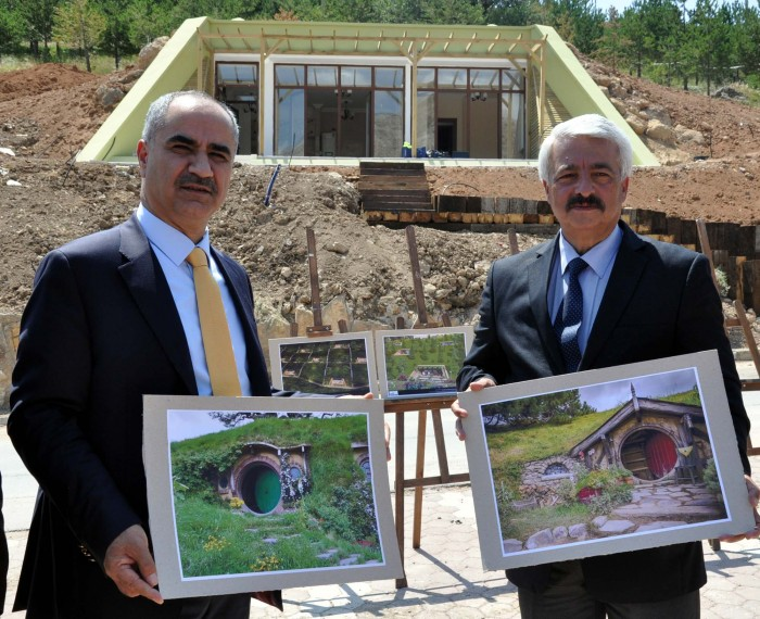 Turkey to build comfy, serene Hobbit Homes in eastern Turkey