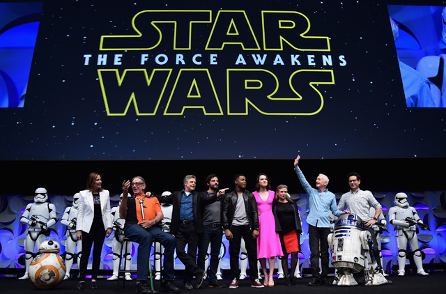 Star Wars: The Force Awakens panel at Star Wars Celebration