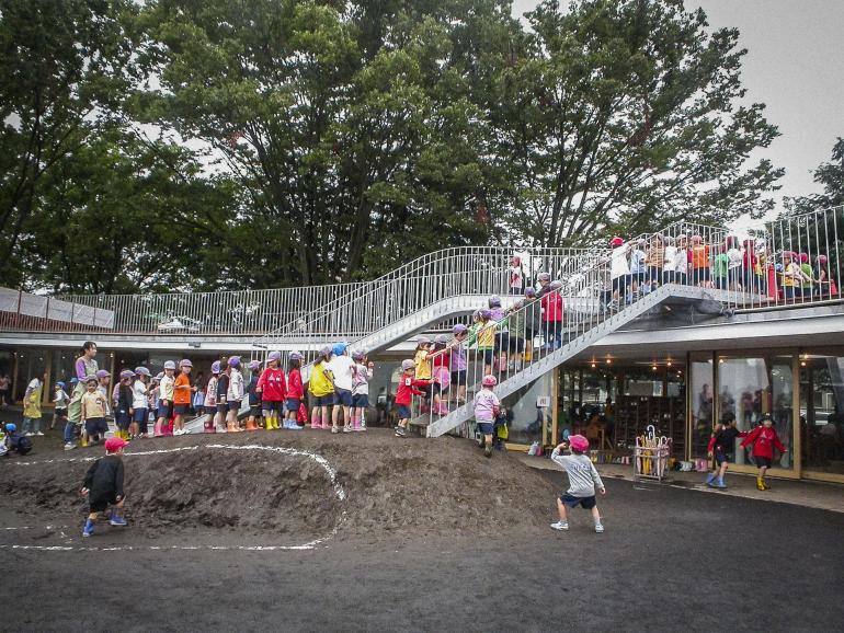 World's best Kindergarten is in Japan