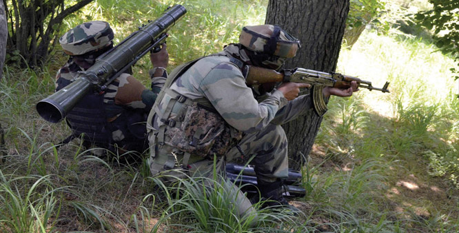 Indian army firing at Pakistan borders