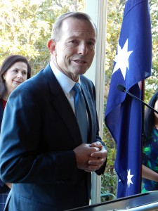 Australian PM Tony Abbott (Photo by Sabeh of Tribune)