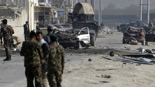 Several-killed-as-blast-hits-government-compound-in-Kabul