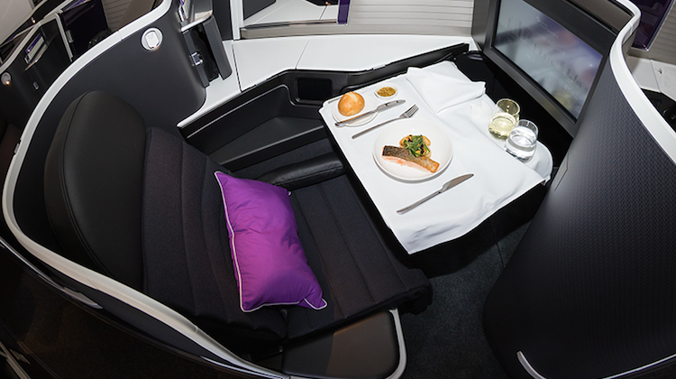 Virgin Australia resident head chef Luke Mangan has designed a new meal service for business class. (Seth Jaworski)