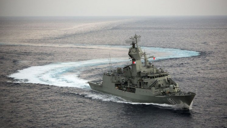 Australai's HMAS Arunta sails to India for AUSINDEX 2015