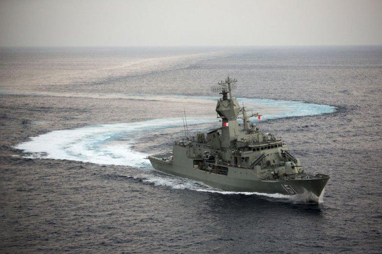 Australai's HMAS Arunta sails to India for AUSINDEX 2015