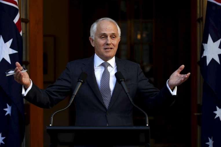 Australian PM Malcolm Turnbull